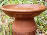 Clay Pot Bird Bath