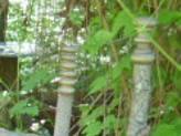 Twig Palisade Fence