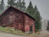 Weathered Red Barn Paint