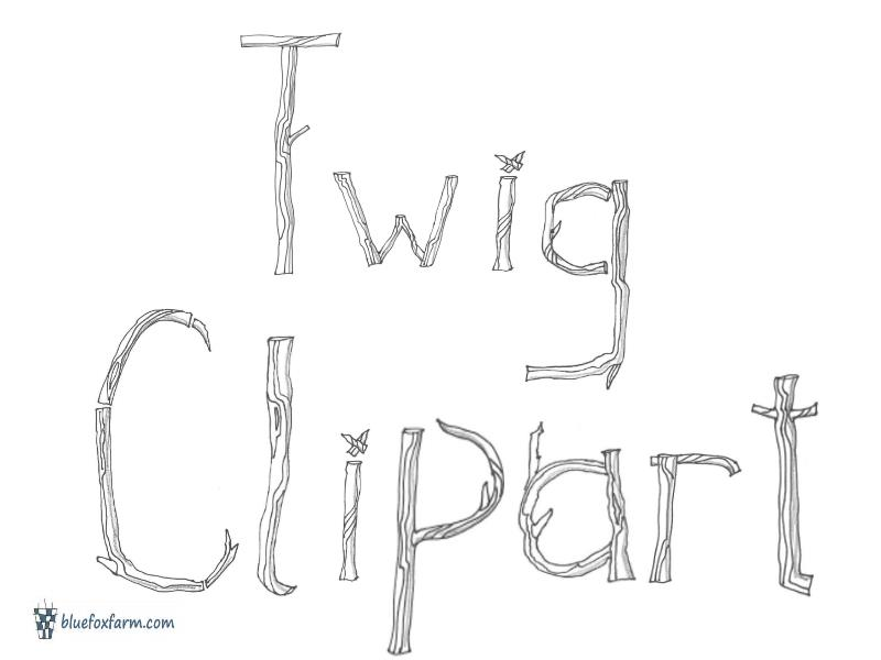 Twig Clipart