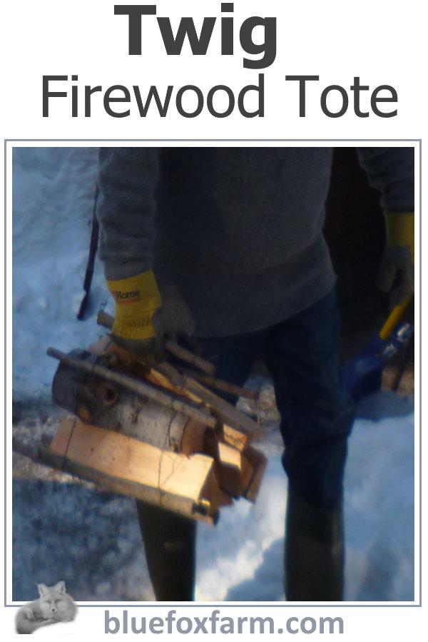 Twig Firewood Tote