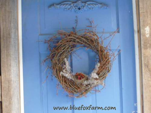 Rustic Twig Wreath - show your love of Mother Nature...