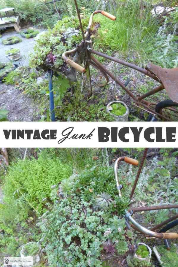 Vintage Junk Bicycle
