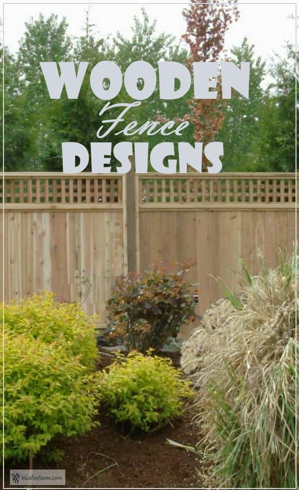 Wooden Fence Designs