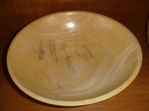 Wooden Burl Bowl